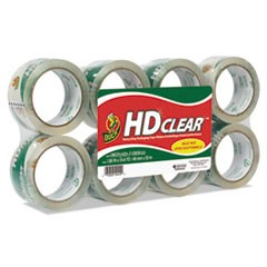 "Heavy-Duty Carton Packaging Tape, 1.88"" x 55 yards, Clear, 8/Pack"