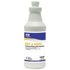 Day & Night Wicking Odor Absorber, 32 oz Bottle, Lavender, 12/Carton