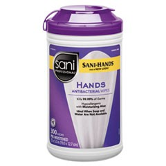 WIPES,ANTIBACTERIAL HANDS