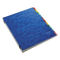 Expanding Desk File, 31 Dividers, Dates, Letter-Size, Blue Cover