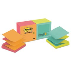 NOTE,POP-UP,3X3,12/PK,NE