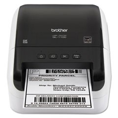 "Wide Format Label Printer, 6.7"" x 8.7"" x 5.9"", 99 Labels"