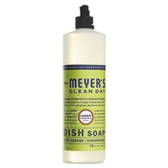 Dish Soap, Lemon Verbena Scent, 16 oz Bottle