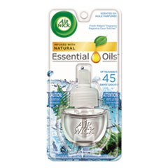 Scented Oil Refill, Fresh Waters, 0.67oz, Clear