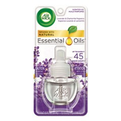 Scented Oil Refill, Lavender & Chamomile, 0.67oz, Purple, 8/CT