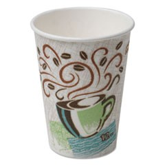 Hot Cups, Paper, 12oz, Coffee Dreams Design, 500/Carton