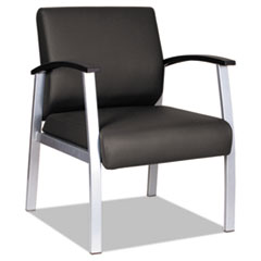 Alera metaLounge Series Mid-Back Guest Chair, 25