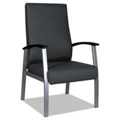 Alera metaLounge Series High-Back Guest Chair, 25