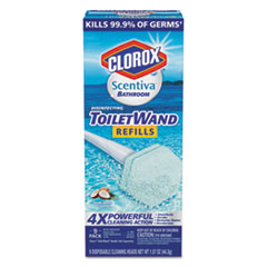 Scentiva Disinfecting ToiletWand Refills, 6/Pack