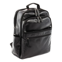 "Valais Backpack, Holds Laptops 15.6"", 5.5"" x 5.5"" x 16.5"", Black"