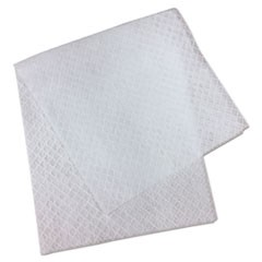 "L3 Quarter-Fold Wipes, 3-Ply, 7"" x 6"", White, 60 Towels/PK"