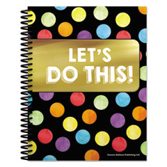 "Teacher Planners, 8.5"" X 11"", Black,"
