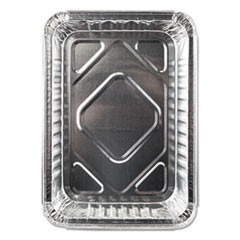 Aluminum Closeable Containers, 1.5 lb Oblong, 500/Carton