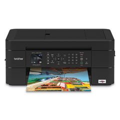 MFCJ491DW Wireless Color Inkjet All-in-One Printer with Mobile Device and Duplex Printing