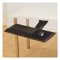 Adjustable Keyboard Platform with SmartFit System, 21.25w x 10d, Black