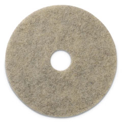 "Porko Plus Burnishing Pads, 20"" Diameter, Grayish Black, 5/CT"