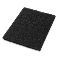"Stripping Pads, 12"" x 18"", Black, 5/Carton"