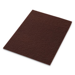 EcoPrep EPP Specialty Pads, 20w x 14h, Maroon, 10/CT