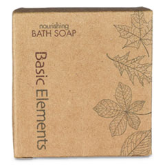 Bath Soap Bar, Clean Scent, 1.41 oz, 200/Carton