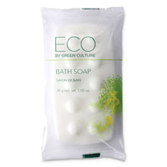 Bath Massage Bar, Clean Scent, 1.06 oz, 300/Carton