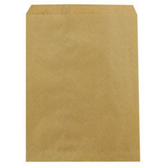 Kraft Paper Bags, 8 1/2w x d x 11h, Brown, 2000/Carton