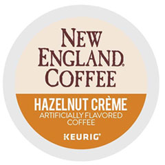 Hazelnut Cr�me K-Cup Pods, 24/Box