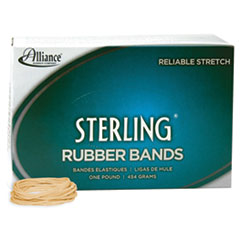 Sterling Rubber Bands Rubber Band, 16, 2 1/2 x 1/16, 2300 Bands/1lb Box