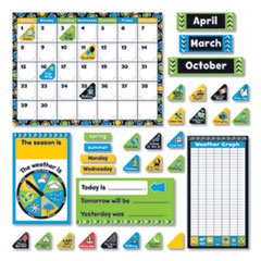 "Bold Strokes Calendar Bulletin Board Set, Assorted, 18 1/4"" x 31"""