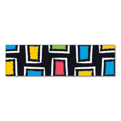 "Bolder Borders, 2 3/4"" x 42"", Bold Strokes Rectangles, Assorted"