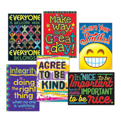 "1ARGUS Poster Combo Pack, ""Kindness Matters"", 13 3/8w x 19h"