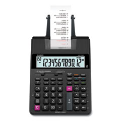 HR170R Printing Calculator, 12-Digit, LCD