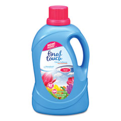 Fabric Softener, Spring Fresh Scent, 67 Loads, 134 oz Bottle, 4/Carton
