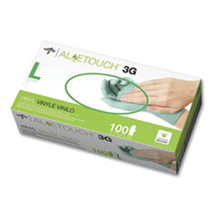 Aloetouch 3G Synthetic Exam Gloves - CA Only, Green, Large, 100/Box