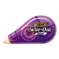 "Wite-Out Brand Mini Correction Tape, Non-Refillable, 1/5"" w x 26.2 ft, Assorted"