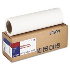"UltraSmooth Fine Art Paper, 250 g, 17"" x 50 ft, 250g/m2, White"