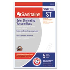 Style ST Disposable Vacuum Bags for SC600 & SC800 Series, 5/Pack