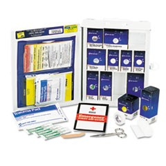 Medium First Aid Kit, 112-Pieces, OSHA Compliant, Metal Case