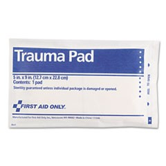 "SmartCompliance Trauma Pad, 5"" x 9"""