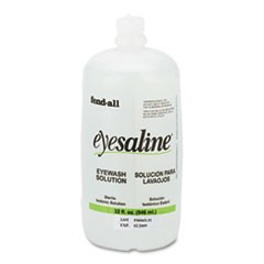 Fendall Eyesaline Eyewash Saline Solution Bottle Refill, 32 oz