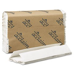 C-Fold Paper Towels, 10 1/4 x 13 1/4, White, 240/Pack, 10 Packs/Carton