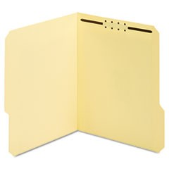 Earthwise Manila Top Tab Fastener Folder, 1/3 Tab, Letter, 50/Box