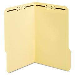 Earthwise Manila Top Tab Fastener Folder, 1/3 Tab, Legal, 50/Box