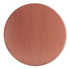 "10700 Series Round Table Top, 42"" Diameter, Bourbon Cherry"