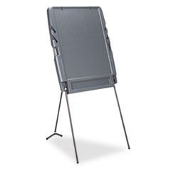 Portable Flipchart Easel, Resin, 35w x 30d x 73h, Charcoal