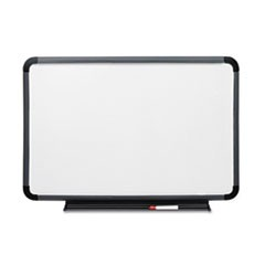 Ingenuity Dry Erase Board, Resin Frame with Tray, 48 x 36, Charcoal