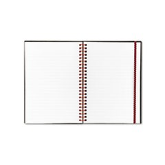 Twin Wire Poly Cover Notebook, Legal Rule, 5 5/8 x 8 1/4, White, 70 Sheets
