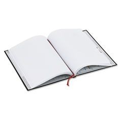Casebound Notebook, Legal Rule, 8 1/4 x 11 3/4, White, 96 Sheets
