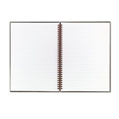 Twinwire Hardcover Notebook, Legal Rule, 8 1/2 x 11, White, 70 Sheets