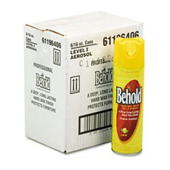 Professional Behold Furniture Polish, 16oz Aerosol, 6/Carton