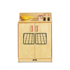 Natural Birch Kitchen, Stove, 20w x 15d x 27h